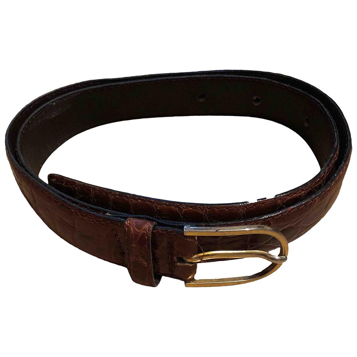 Cinturon de Cocodrilo Non Signe / Unsigned