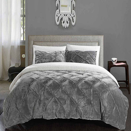 Chic Home Josepha 7-pc. Midweight Comforter Set, One Size , Gray