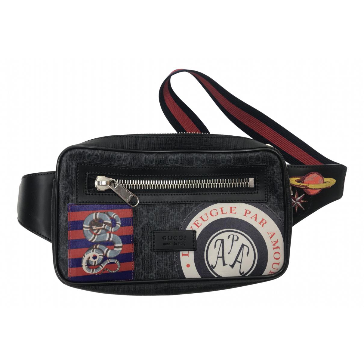 Gucci N Black Cloth Small bag, wallet & cases for Men N