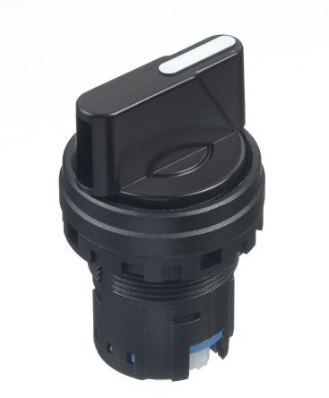 Idec HW Selector Switch Head - 3 Position, Latching, 22mm cutout