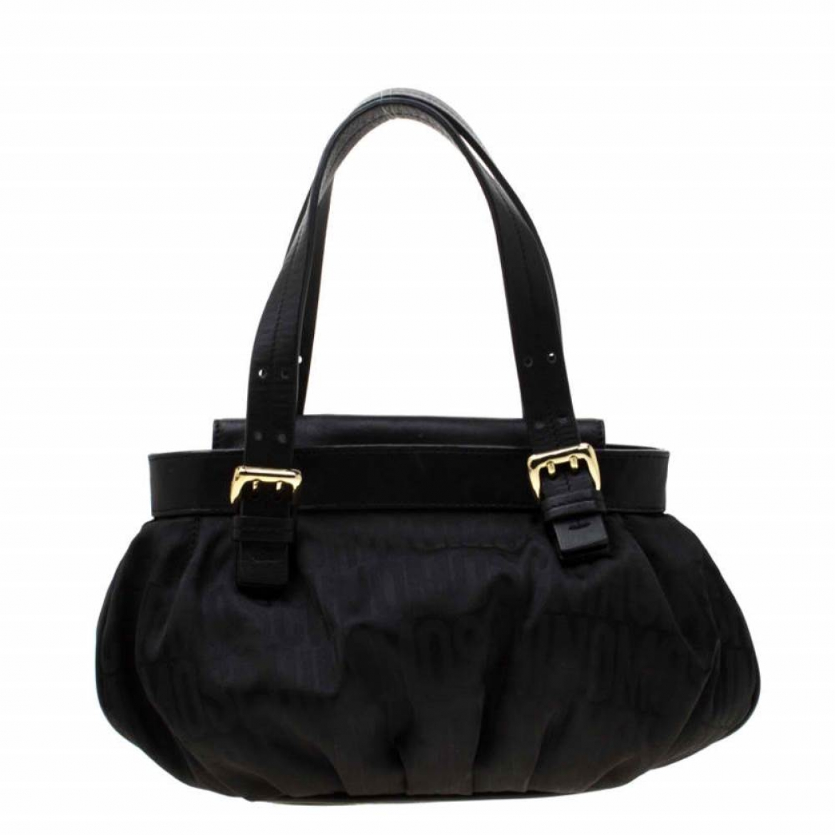Moschino \N Black Cloth handbag for Women \N