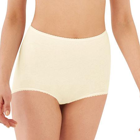 Bali Cool Cotton Skimp Skamp Brief Panty-2332, 8 , White