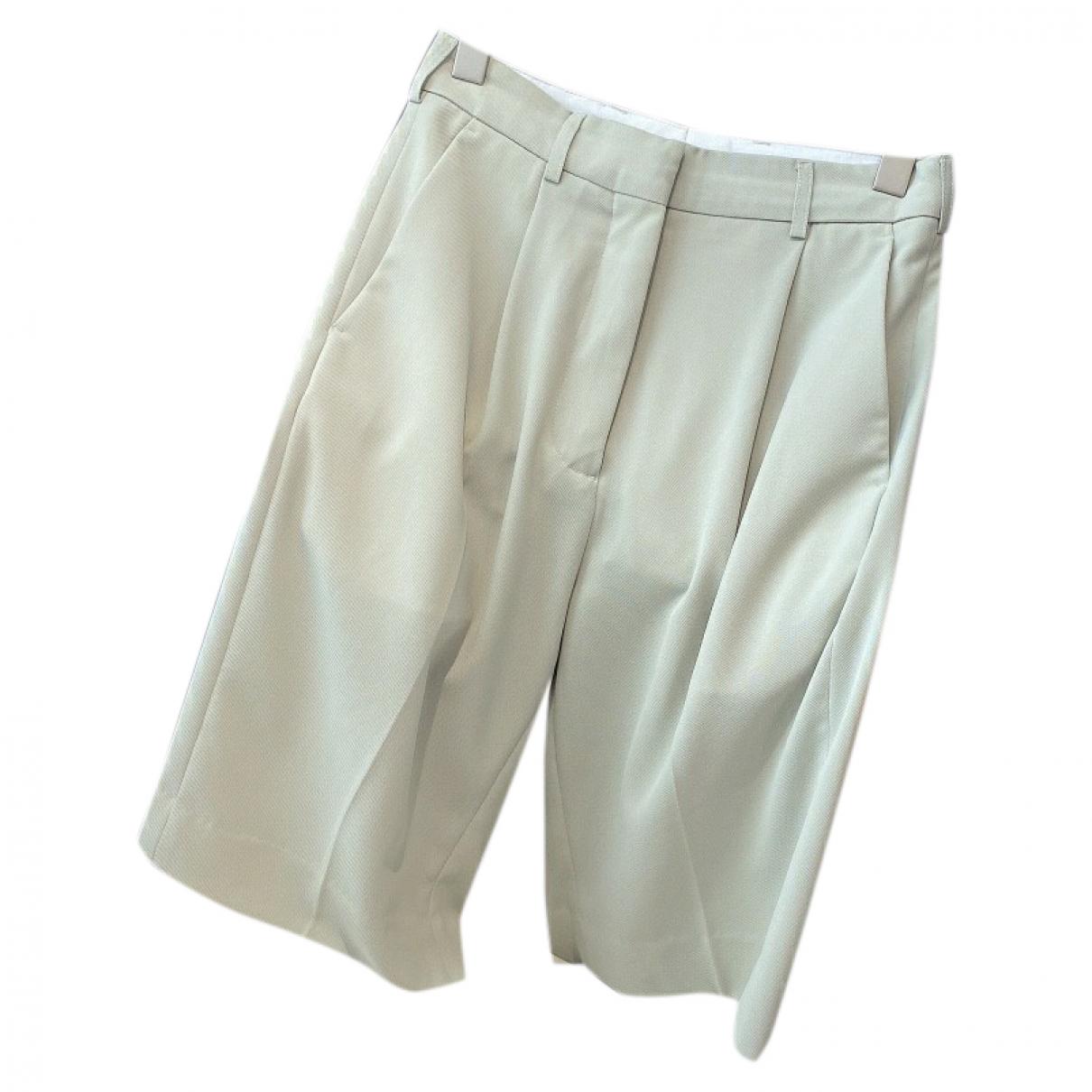 Acne Studios \N Shorts in  Gruen Wolle