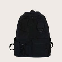 Multi-pocket Front Large Capacity Backpack