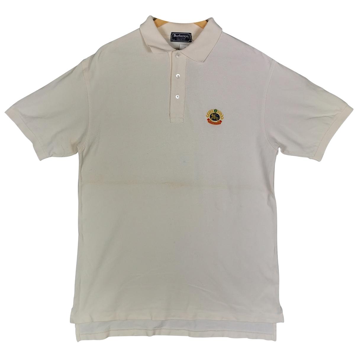 Polo en Algodon Burberry