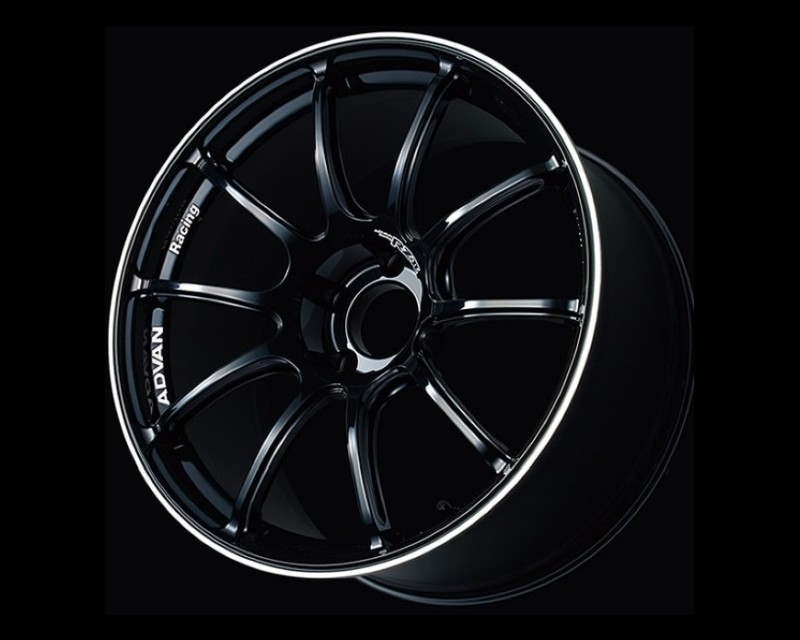 Advan RZII Wheel 16x7 4x100 48mm Racing Gloss Black