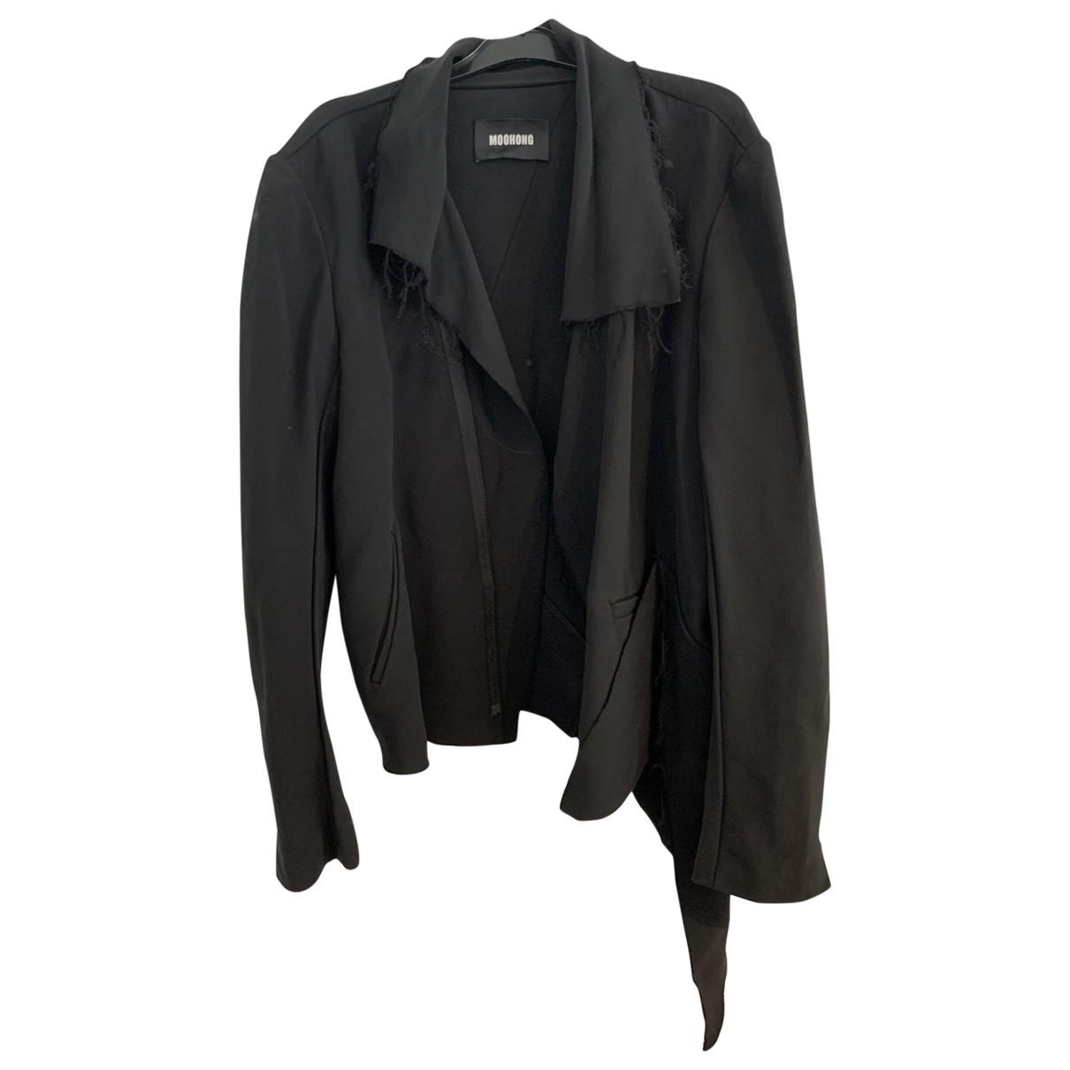 - Costumes   pour homme en laine - noir