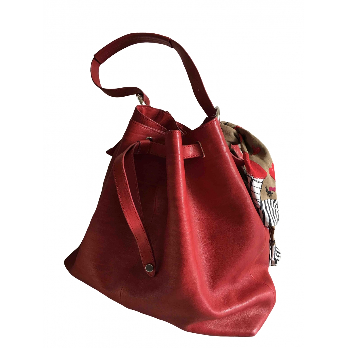 Orciani \N Red Leather handbag for Women \N