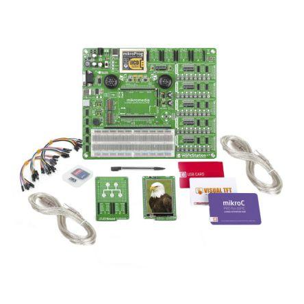 MikroElektronika mikroLAB for Mikromedia - dsPIC33 TFT Colour Display, USB Development Board MIKROE-2650