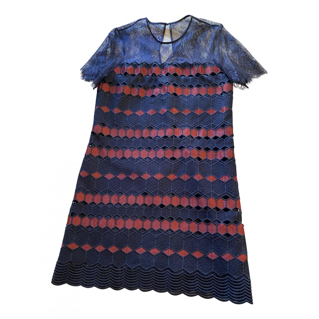 Mini vestido de Encaje Sandro