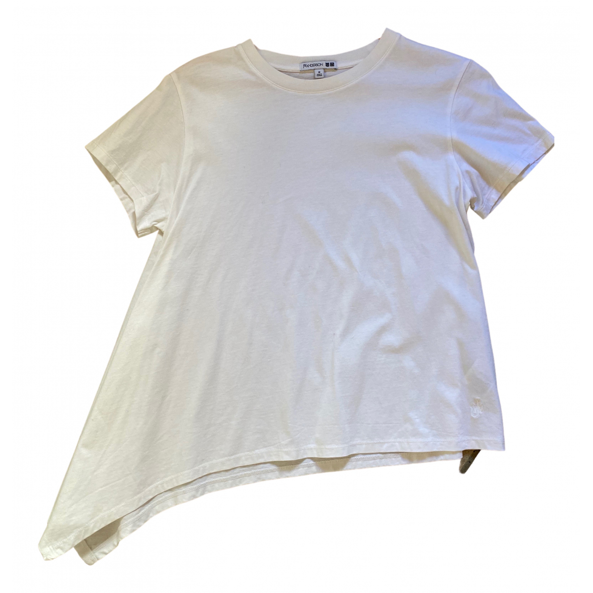 J.w. Anderson \N White Cotton  top for Women M International