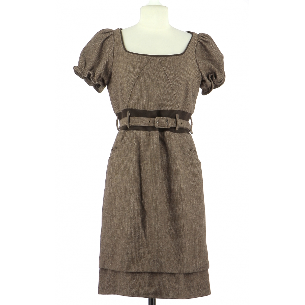 Marc Jacobs - Robe   pour femme en laine - marron