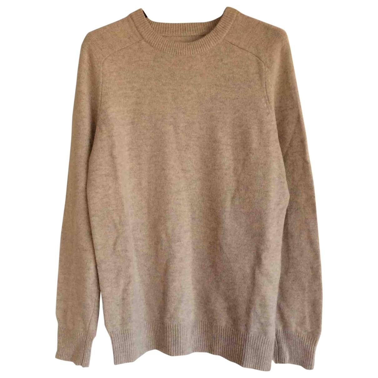 Samsoe & Samsoe \N Pullover.Westen.Sweatshirts  in  Beige Wolle