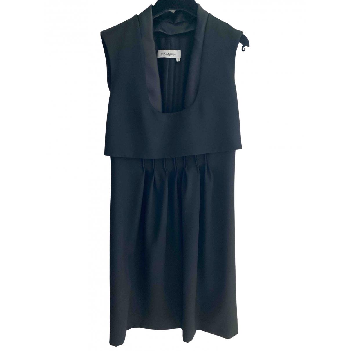 Vestido midi de Lana Yves Saint Laurent