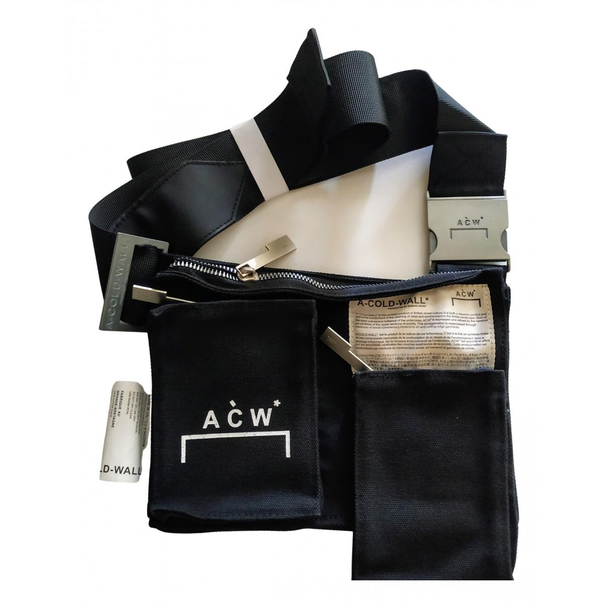 A-cold-wall - Sac   pour homme en coton - noir