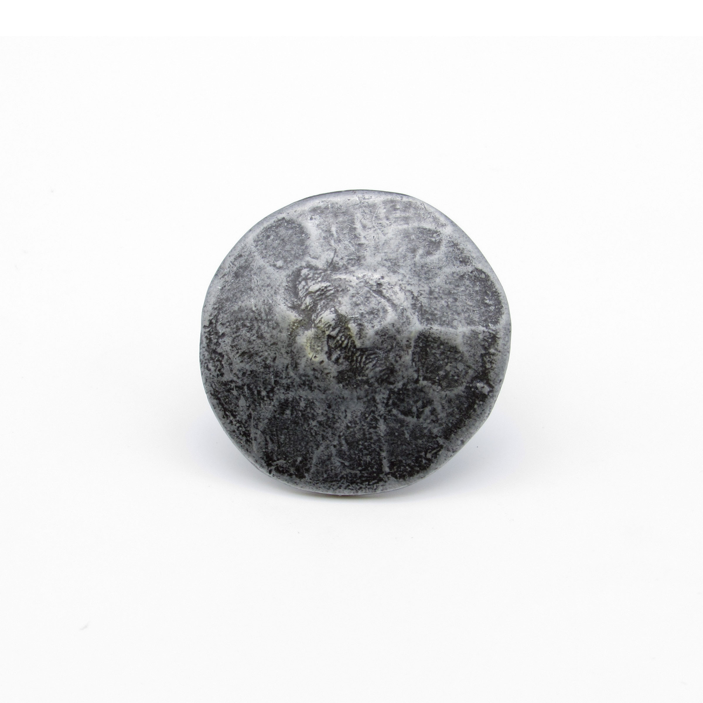 """Round 1-3/8"""" Clavo Decorative Nail, 8-Pack, Pewter Oxide"""