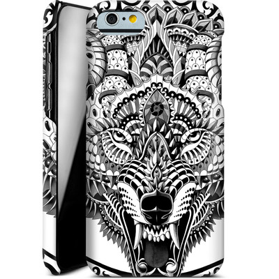 Apple iPhone 6s Smartphone Huelle - Wolf Head von BIOWORKZ