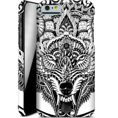 Apple iPhone 6s Smartphone Huelle - Wolf Head von BIOWORKZ
