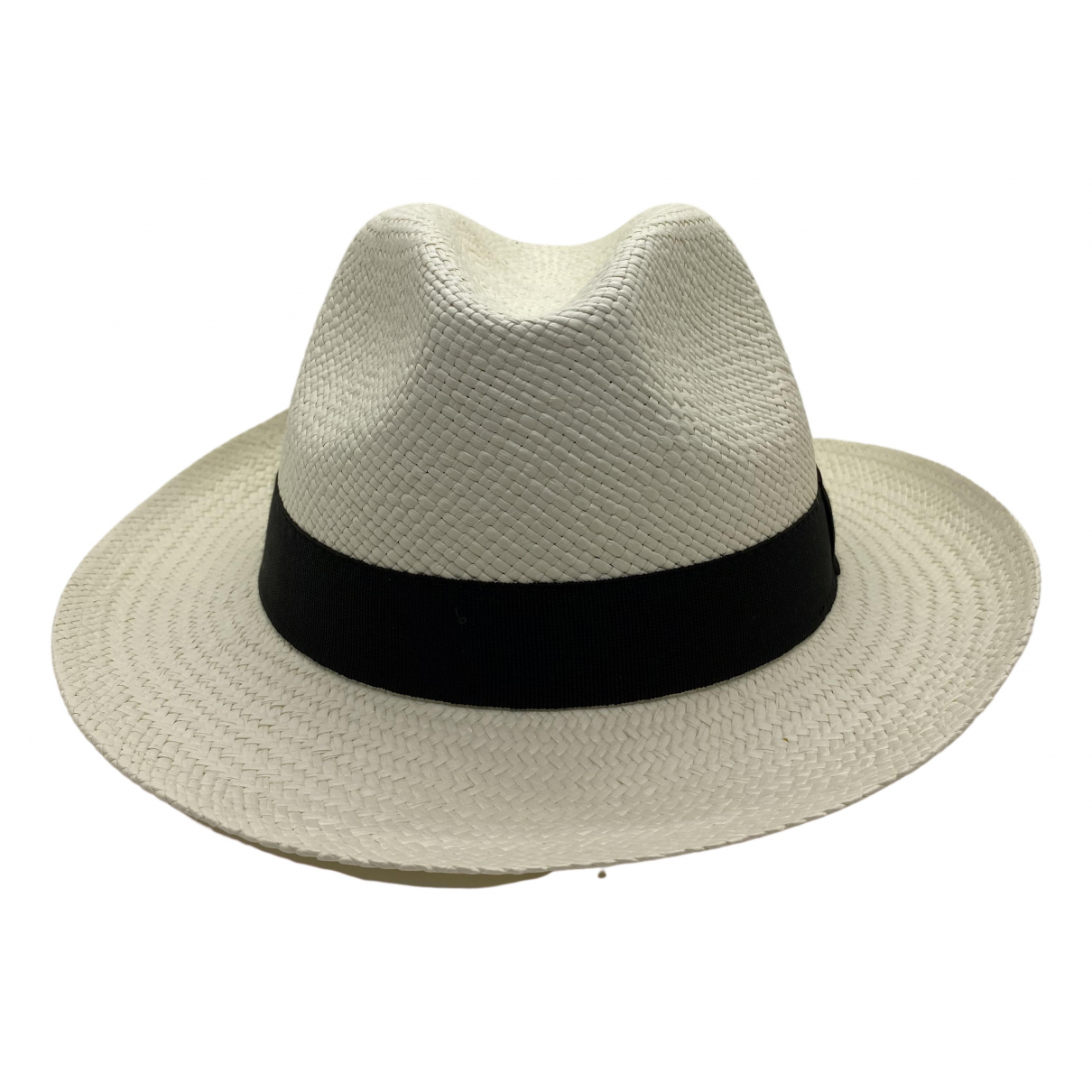 Non Signé / Unsigned \N White hat for Women 58 cm