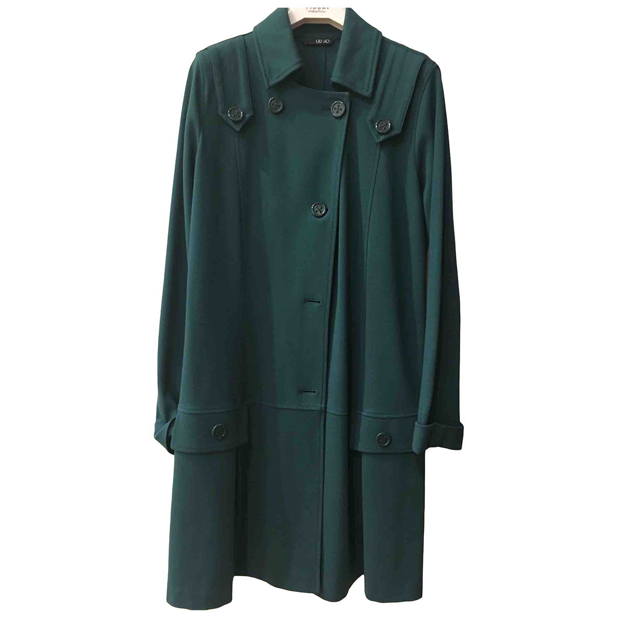 Liu.jo N Green Velvet jacket for Women 46 IT