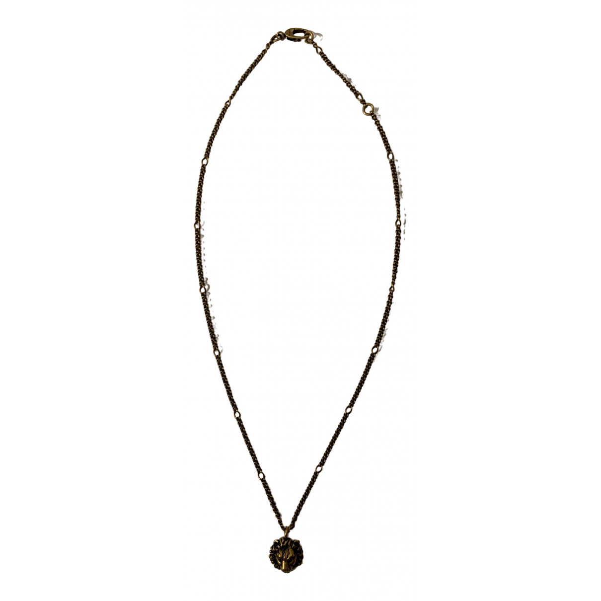 Gucci \N Gold Metal necklace for Women \N