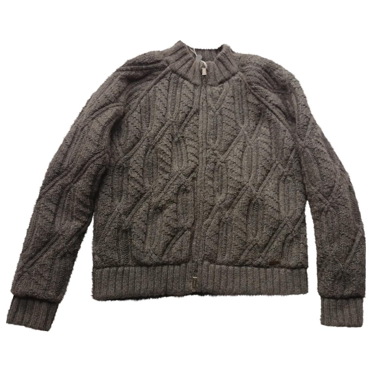 Dsquared2 - Veste   pour femme en laine - marron