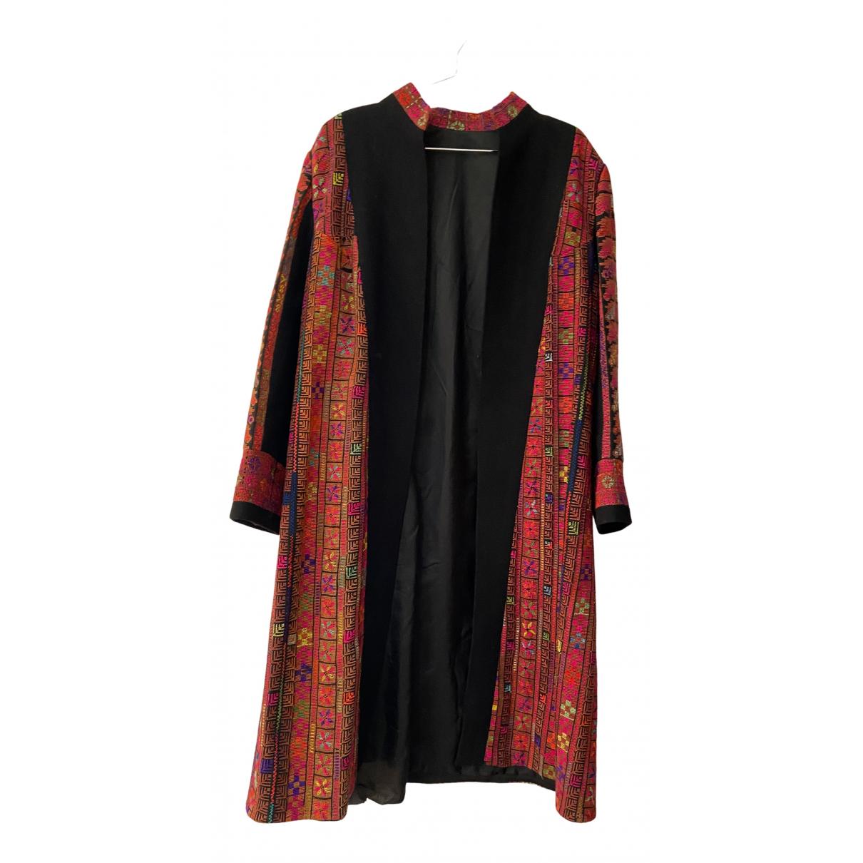 - Manteau   pour femme en coton - multicolore