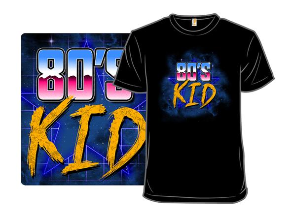80s Kid T Shirt