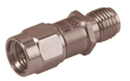Huber & Suhner 50Ω RF Attenuator SMA Connector SMA Plug to Socket 20dB, Operating Frequency DC to 6GHz