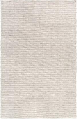 Solo SLO-14 5' x 8' Rectangle Modern Rugs in Light Gray