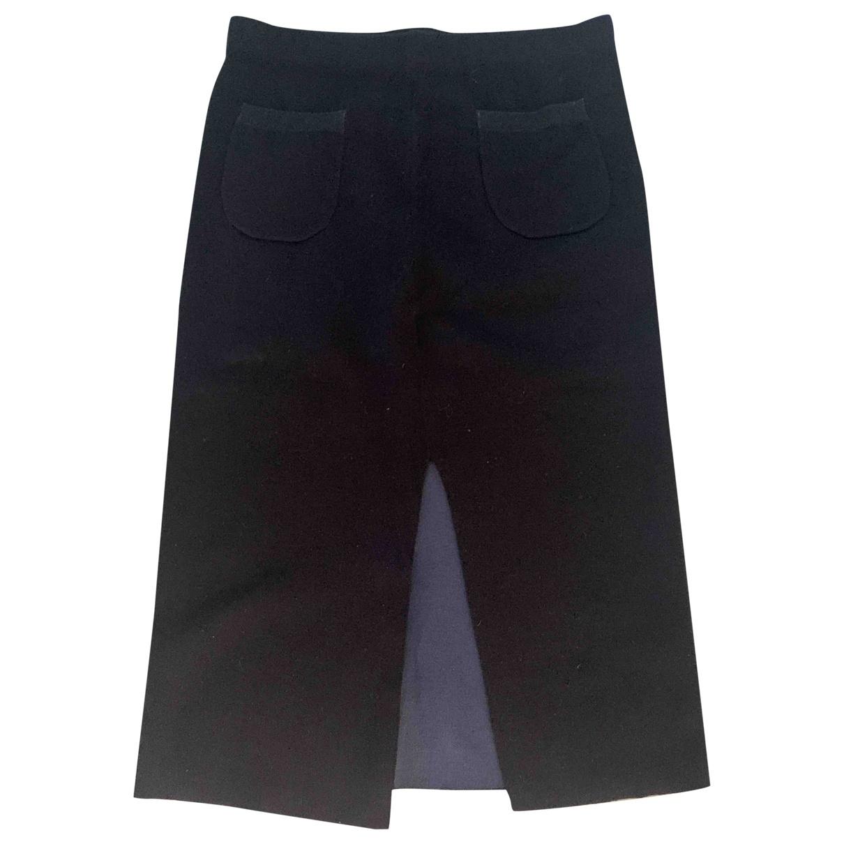 Filippa K - Jupe   pour femme en laine - noir