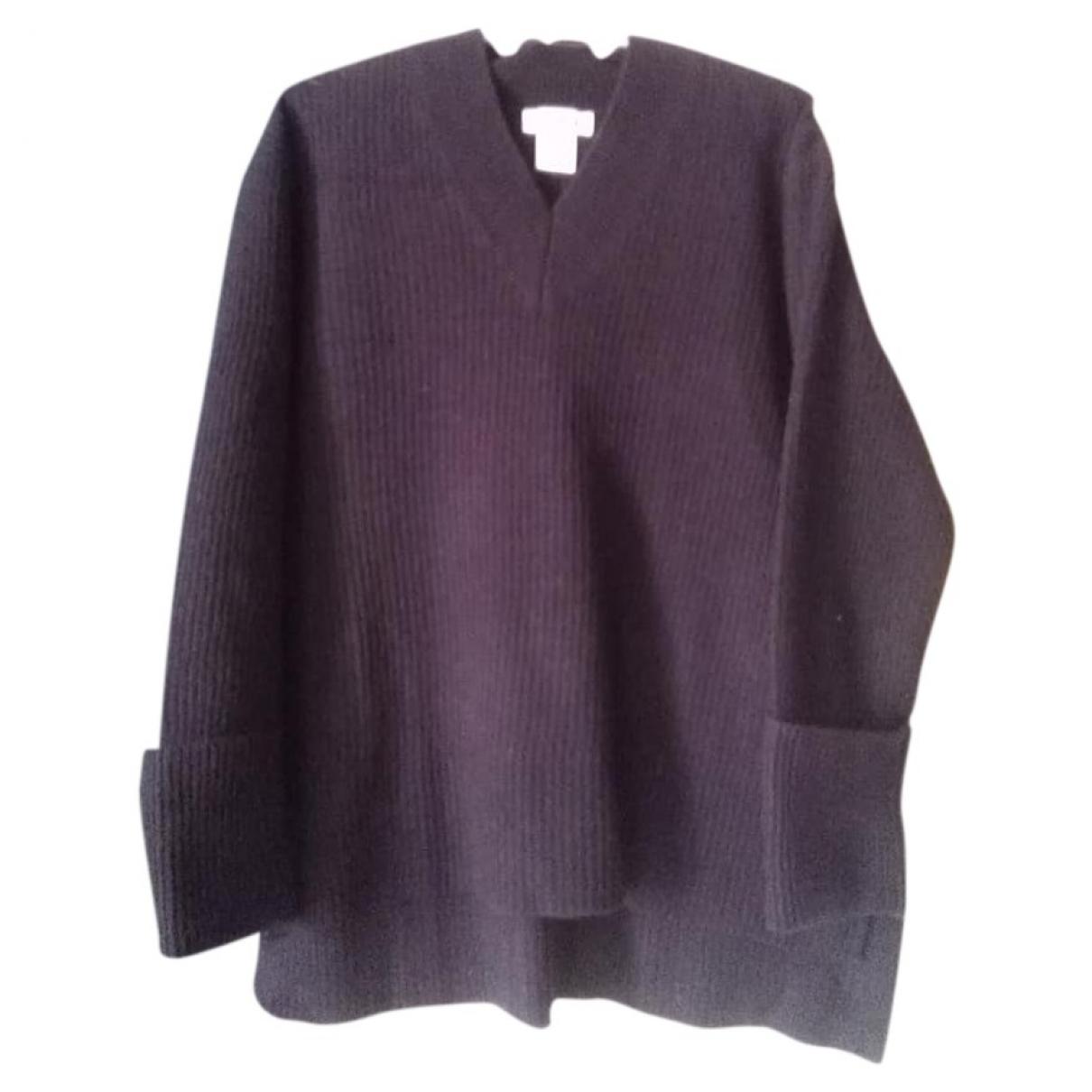 Hope \N Pullover in  Blau Wolle