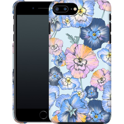 Apple iPhone 8 Plus Smartphone Huelle - Pretty Pansy von Stephanie Breeze