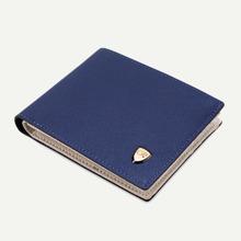 Men Fold Over Wallet With Card Holder