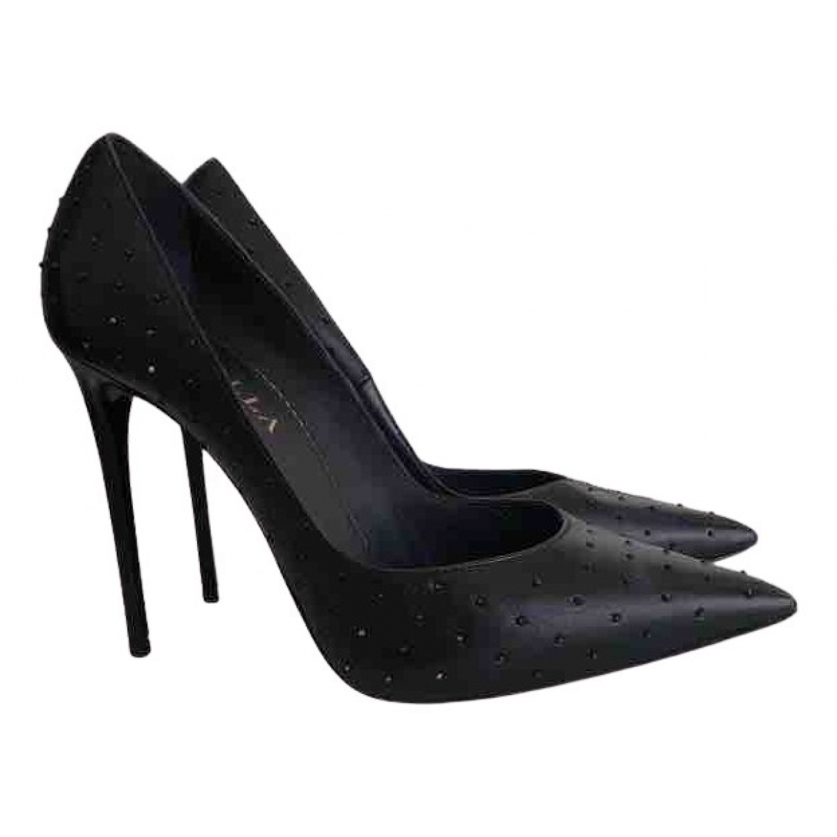 Le Silla \N Pumps in  Schwarz Leder