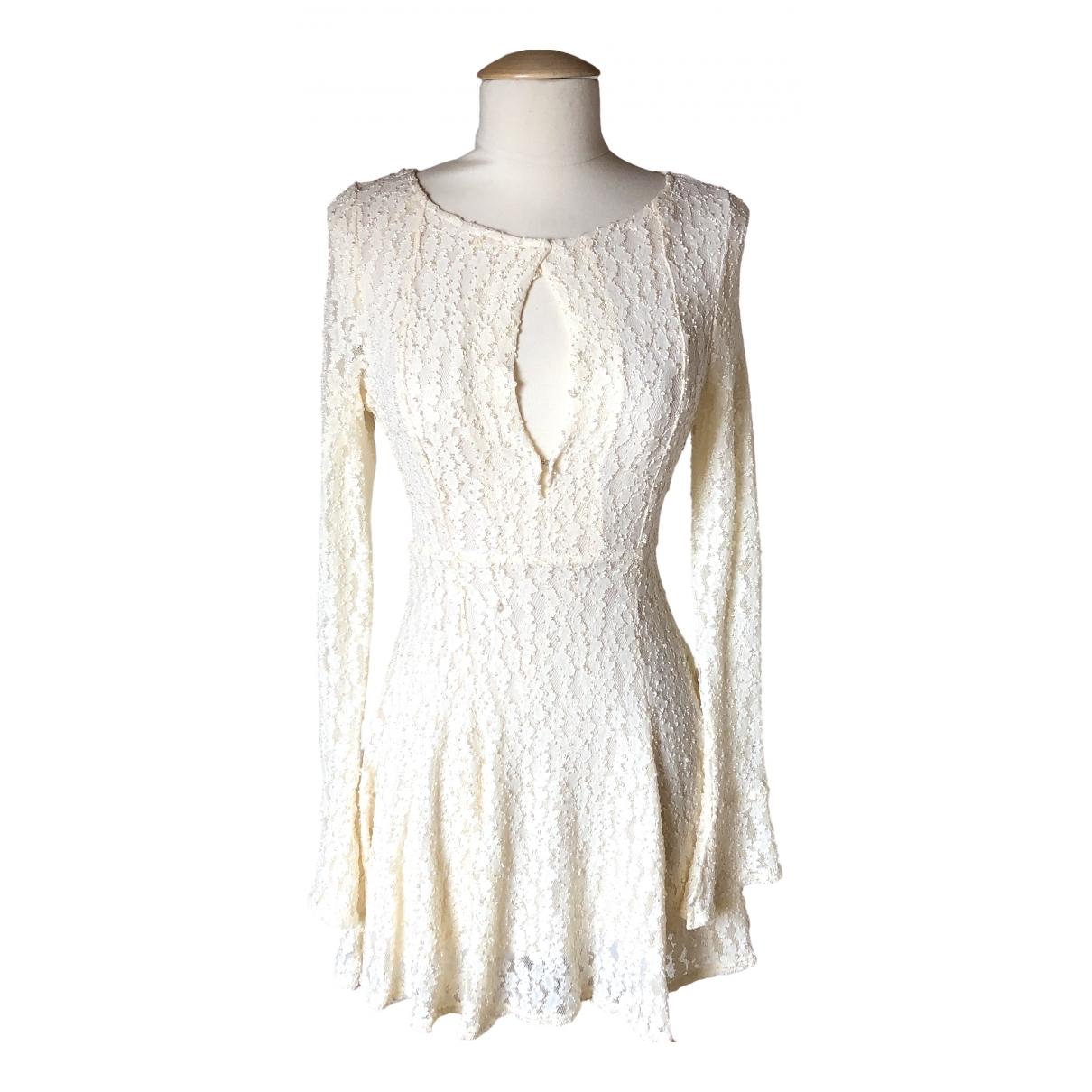 Free People \N Ecru dress for Women XS International
