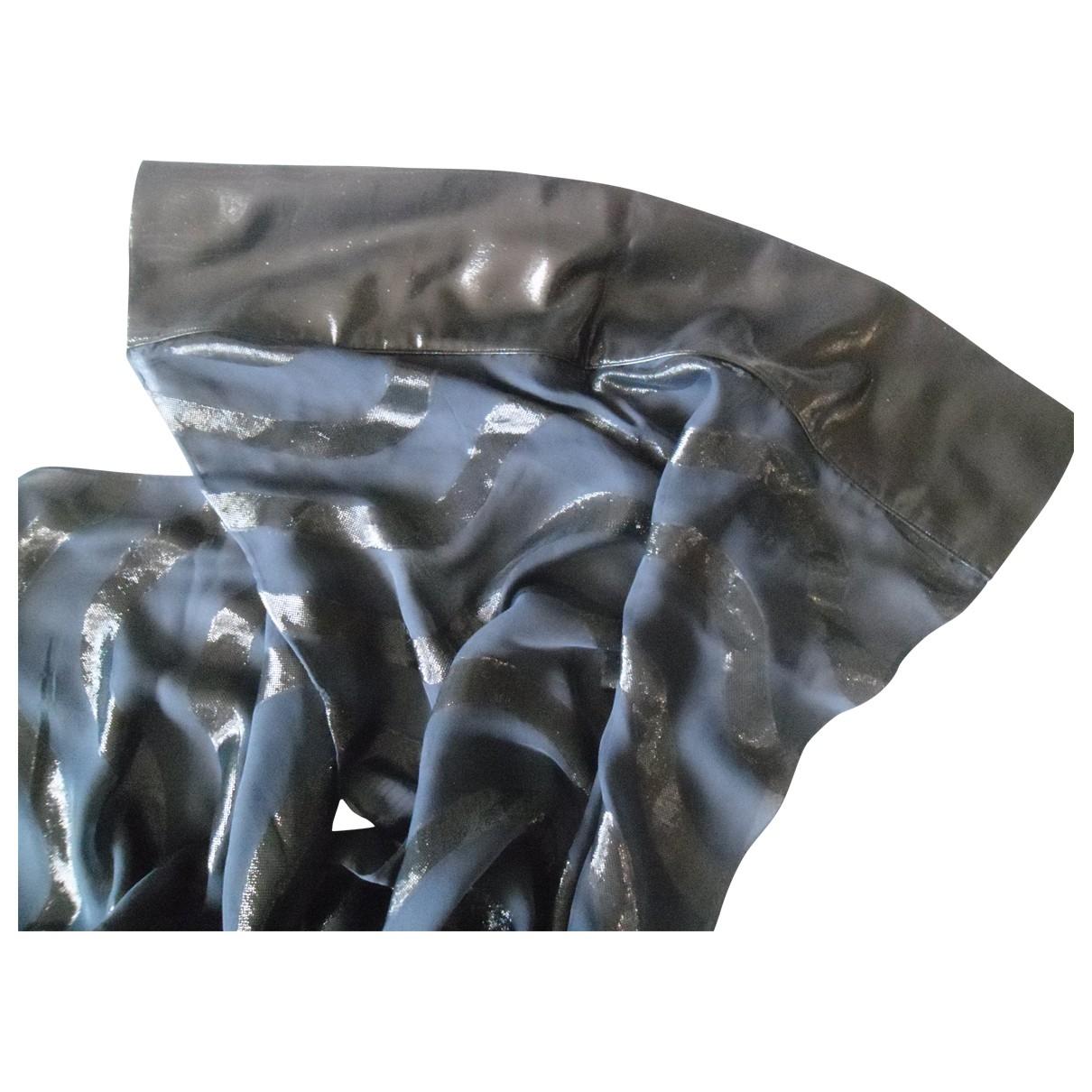 Giorgio Armani \N Blue Silk scarf for Women \N