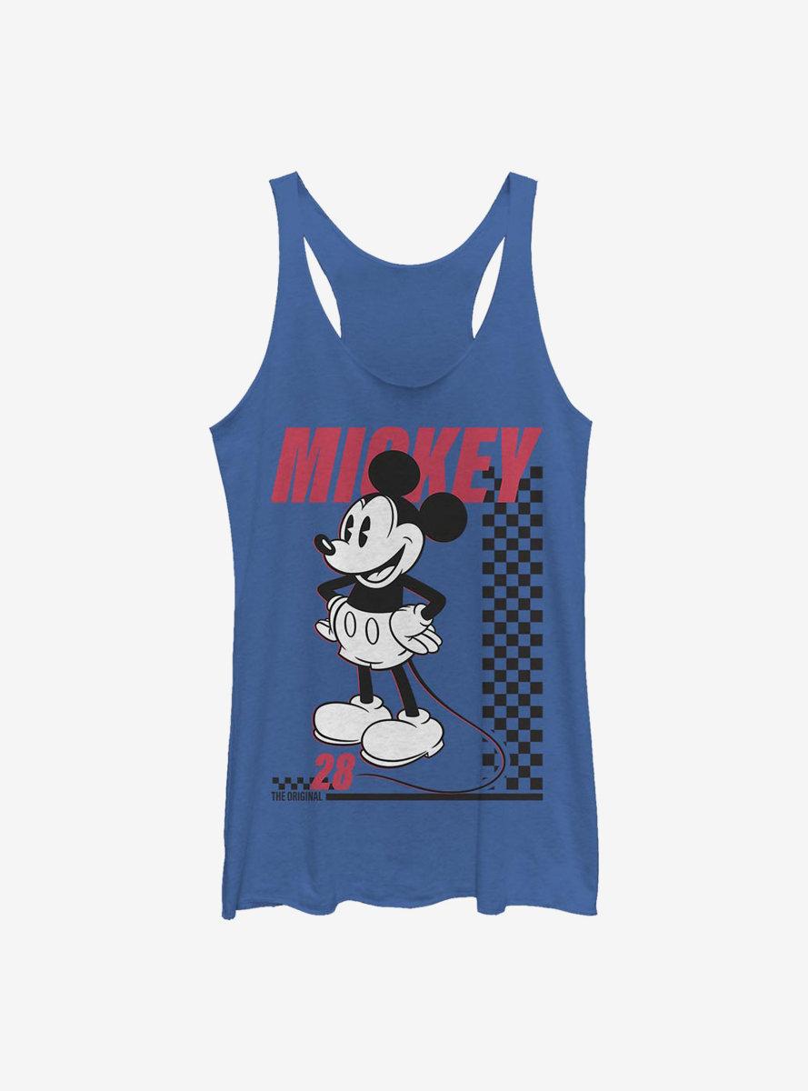 Disney Mickey Mouse Skate Twenty Eight Womens Tank Top