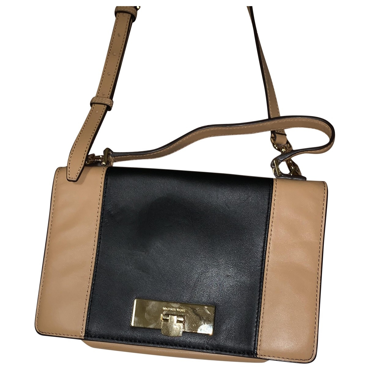 Michael Kors \N Beige Leather Clutch bag for Women \N