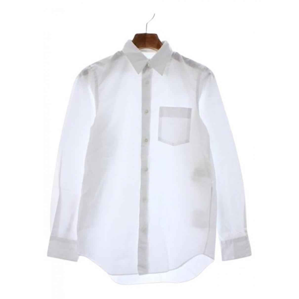 Junya Watanabe - Top   pour femme en coton - blanc
