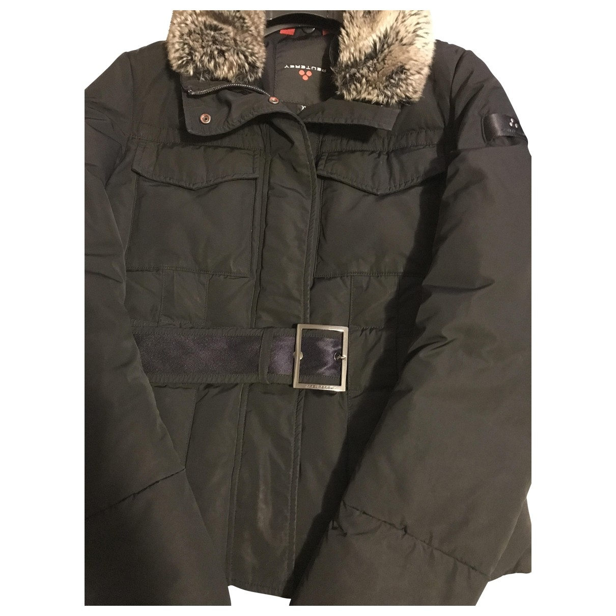 Peuterey - Blousons.Manteaux   pour enfant - noir