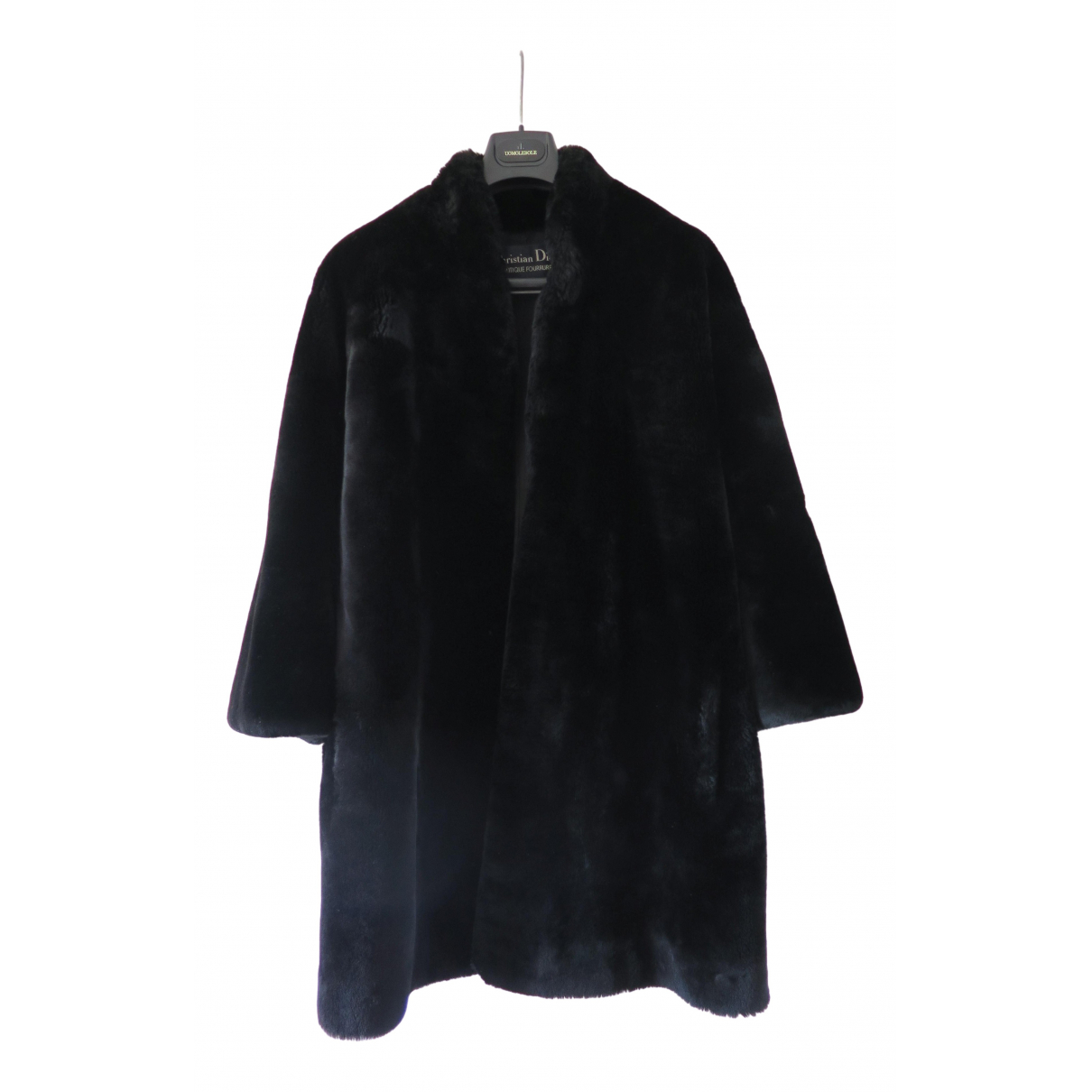 Dior \N Black Shearling coat for Women 38 FR