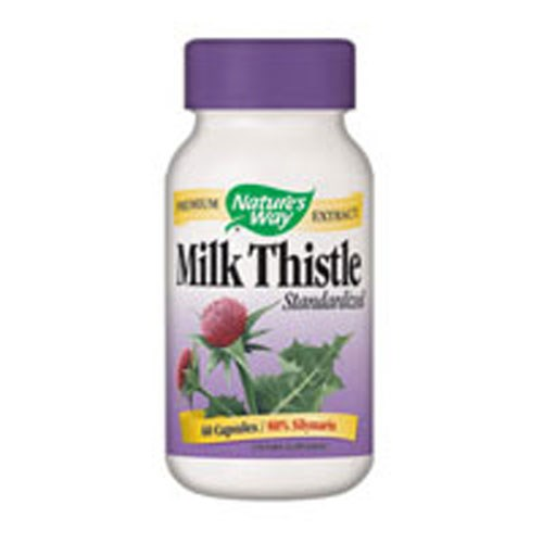 Milk Thistle Standardized Extract EXTRACT, 60 CAP by Nature's Way