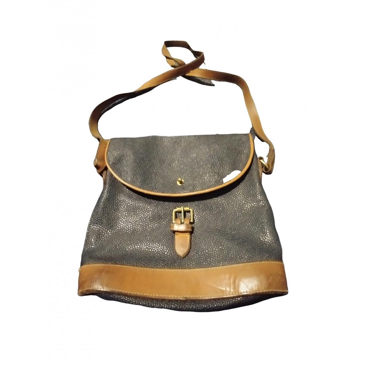 Mulberry \N Handtasche in  Marine Leder
