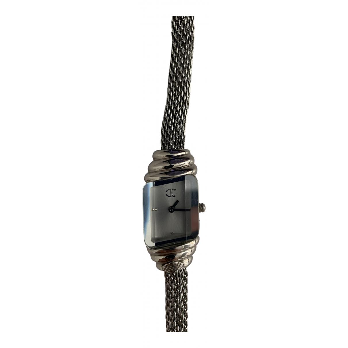 Just Cavalli \N Grey Steel watch for Women \N