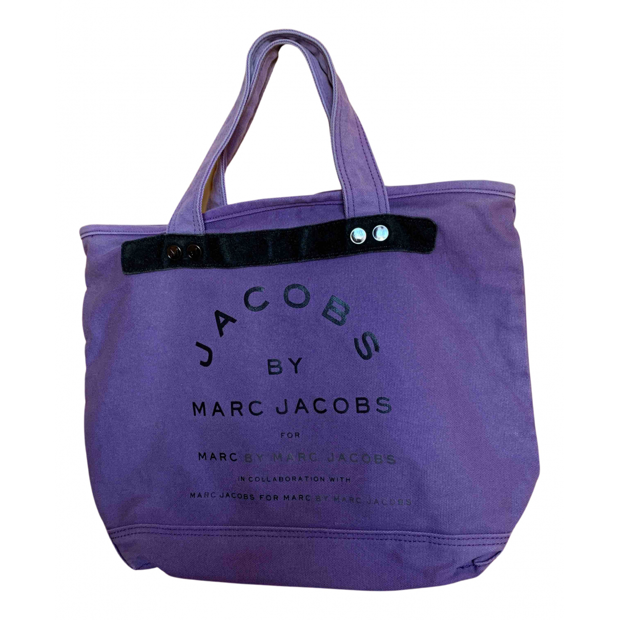 Marc By Marc Jacobs - Sac a main   pour femme en toile - violet