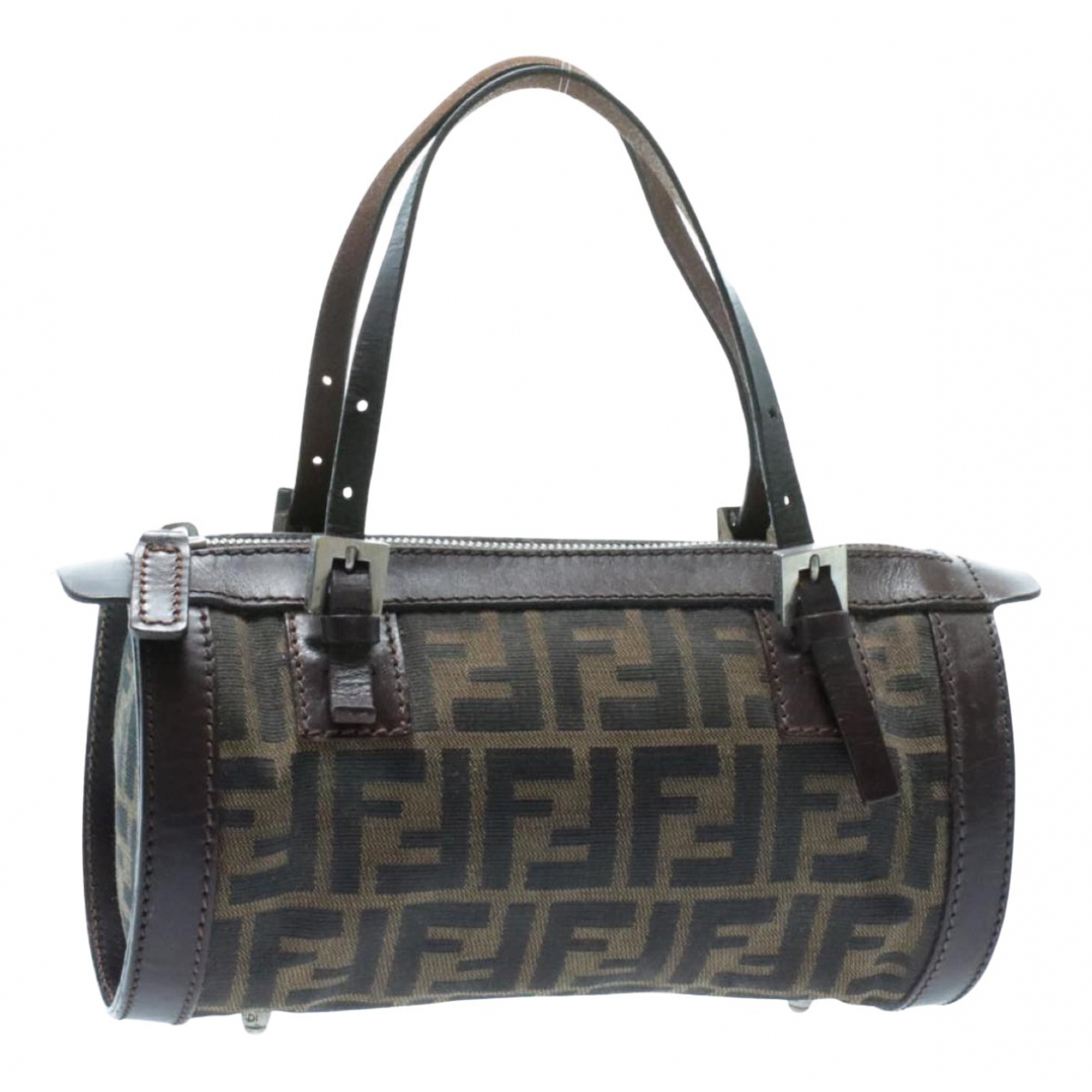 Fendi N Brown Cloth handbag for Women N