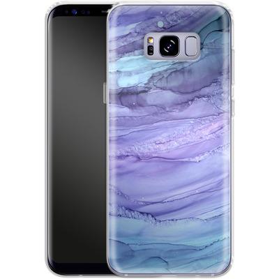 Samsung Galaxy S8 Plus Silikon Handyhuelle - Mermaid Marble von Becky Starsmore