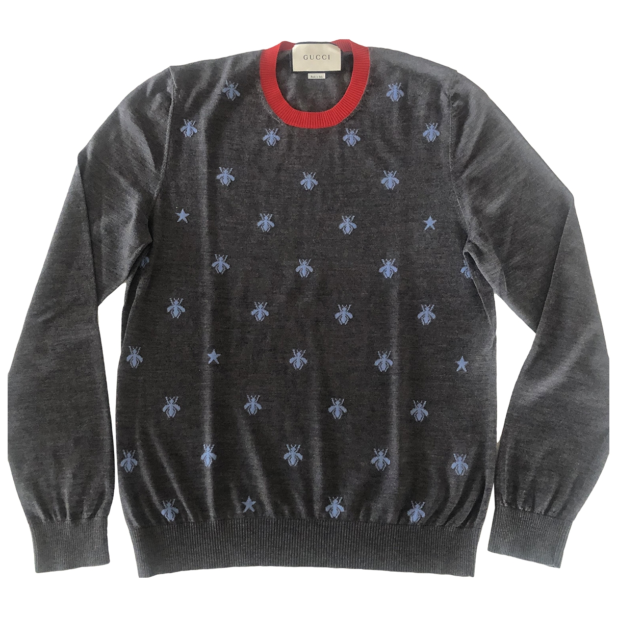 Gucci \N Anthracite Wool Knitwear & Sweatshirts for Men M International