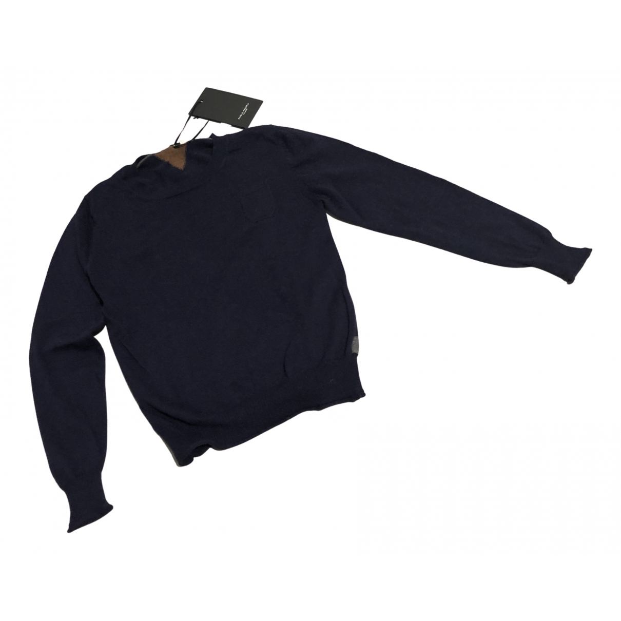 Non Signé / Unsigned N Blue Cashmere Knitwear for Kids 8 years - up to 128cm FR